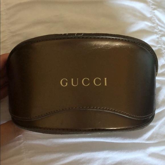 Gucci Sunglasses & Gucci Case